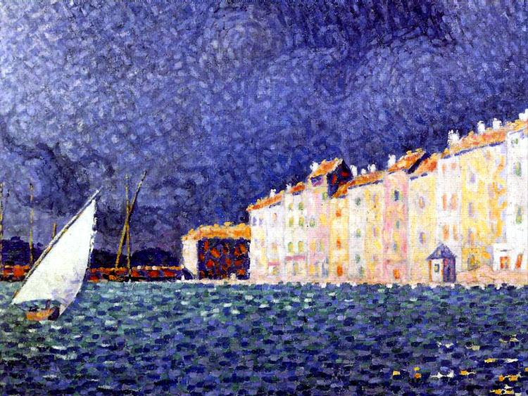 Paul Signac, 1895