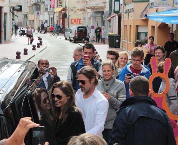 Les célébrités en vacances à Saint Tropez