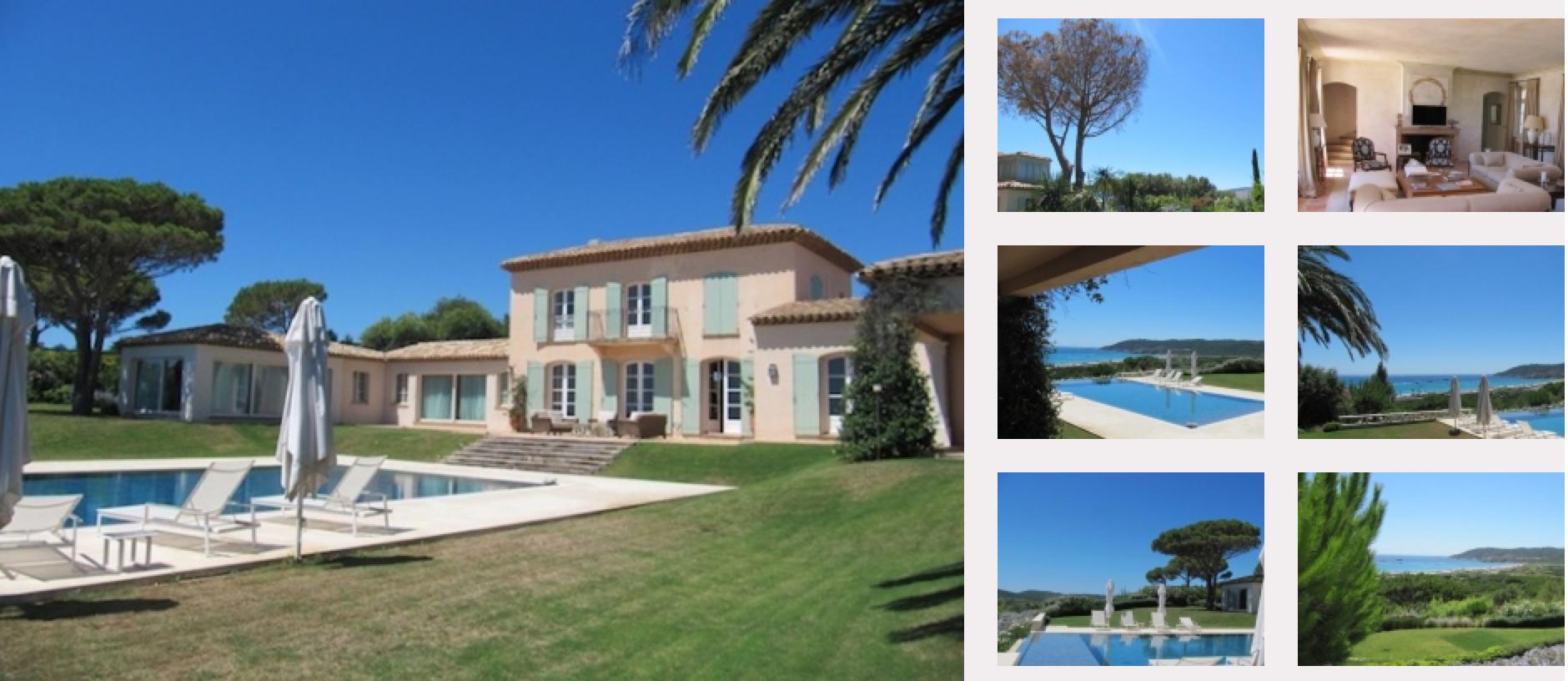 Villa Pampelone bay St Tropez