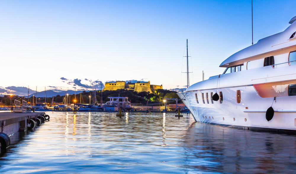 yachts port antibes