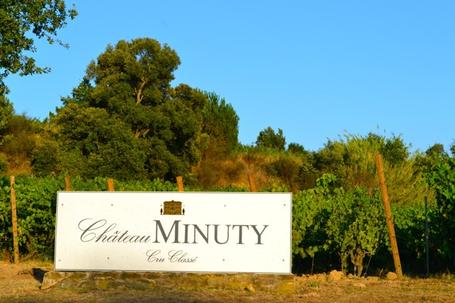 Arguably Provence's best known vineyard: Château Minuty