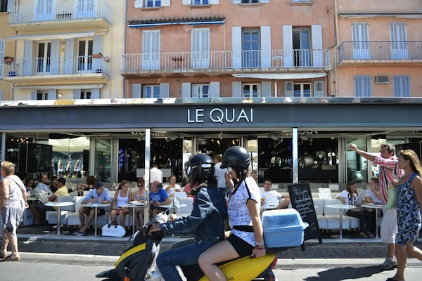 Restaurants Open All Year Round in Saint Tropez