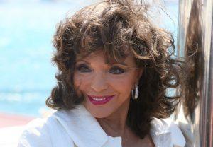 Celebrities in St Tropez - Joan Collins