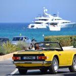 Luxury cars in St Tropez