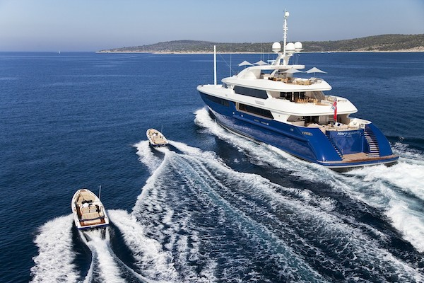 Charter M/Y Mary-Jean II in St Tropez Area 1