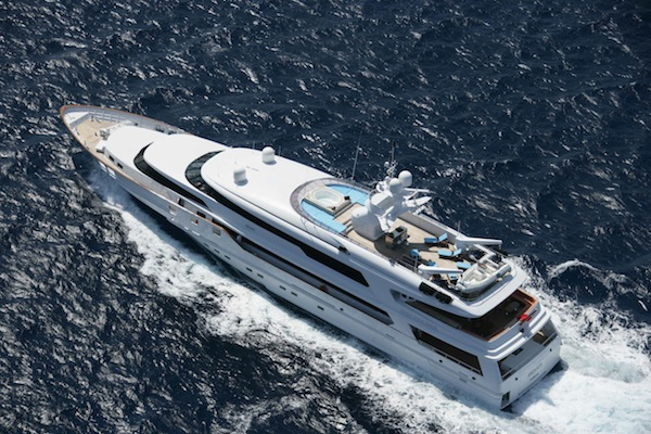 DONALD STARKEY SUPERYACHT AVAILABLE for Charter in St. Tropez This Summer