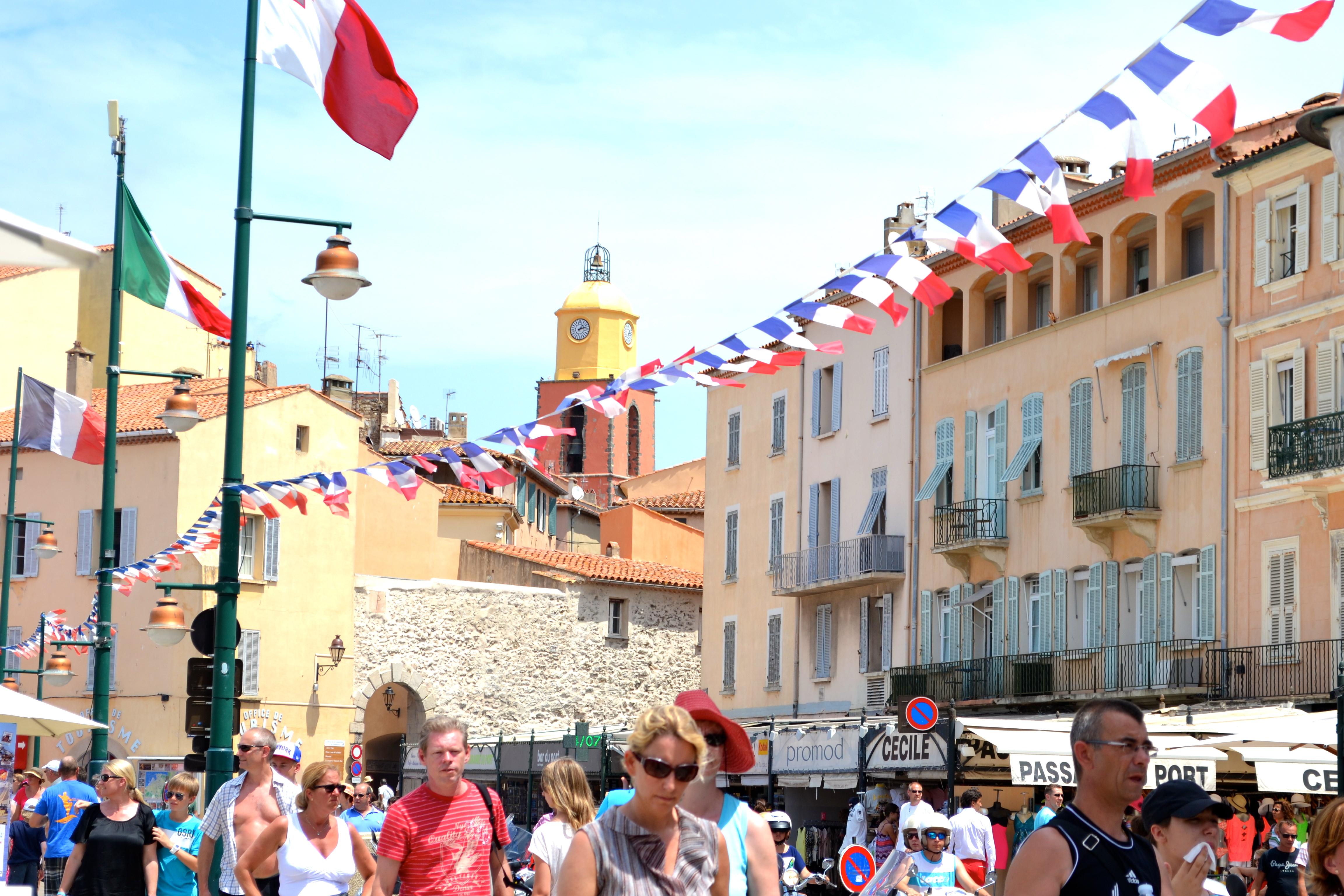 24 hours in Saint Tropez