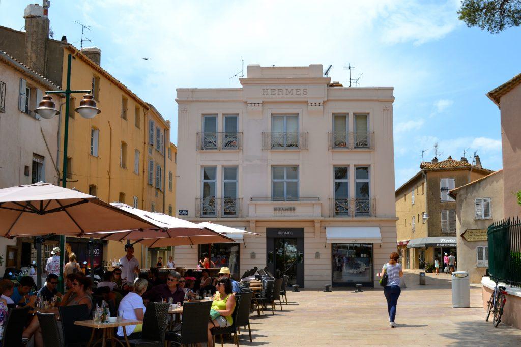 St Tropez Hermes boutique