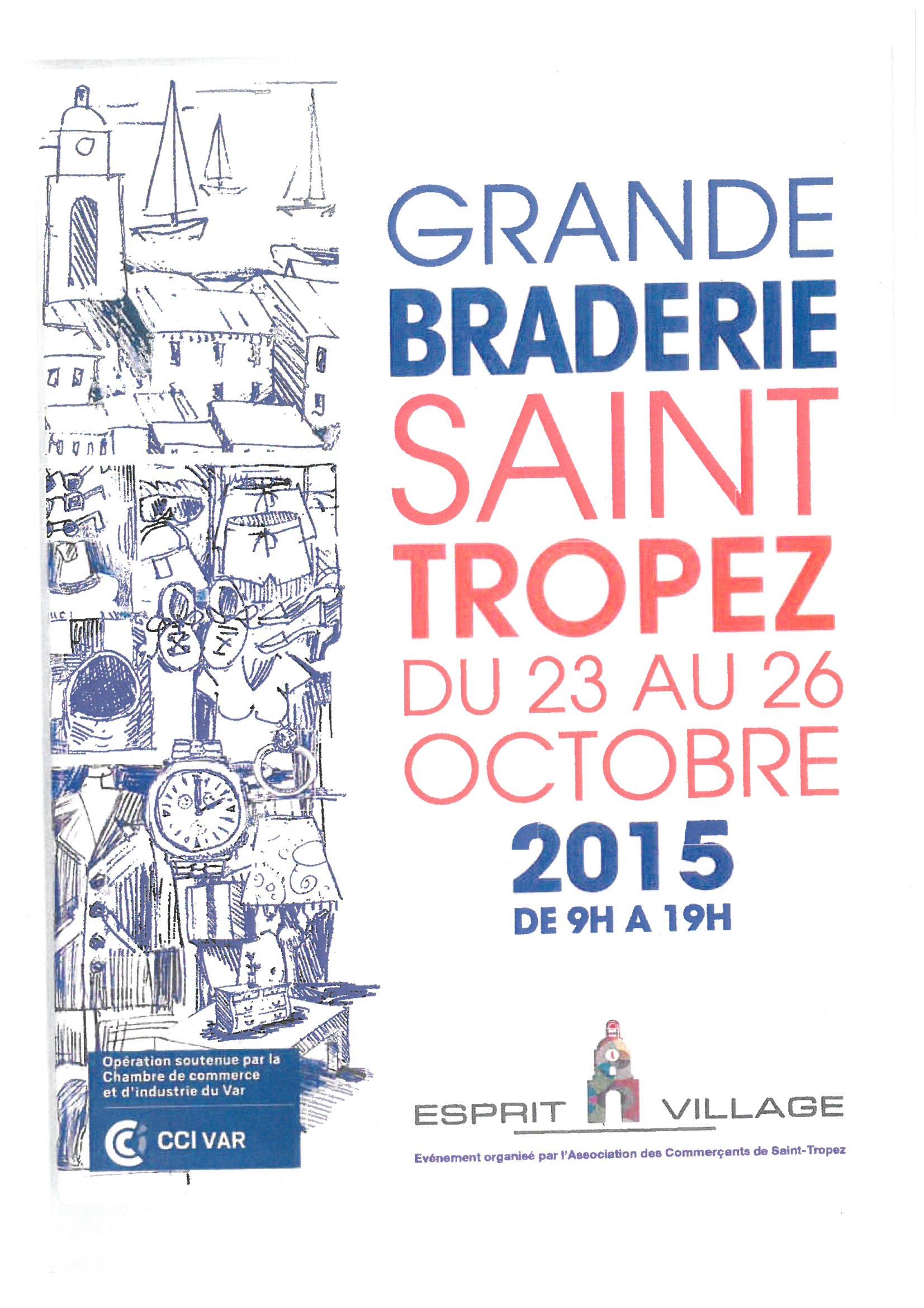 La Grande Braderie de Saint Tropez