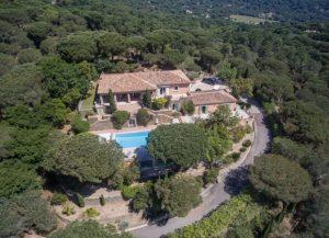 luxury villa rental Ramatuelle