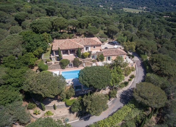 luxury villa rental Ramatuelle