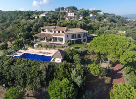 Villa Cerise near Leonardo DiCaprio St Tropez gala