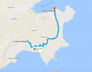 St Tropez Shortcut Croix Valmer