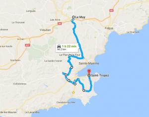 St Tropez Shortcut