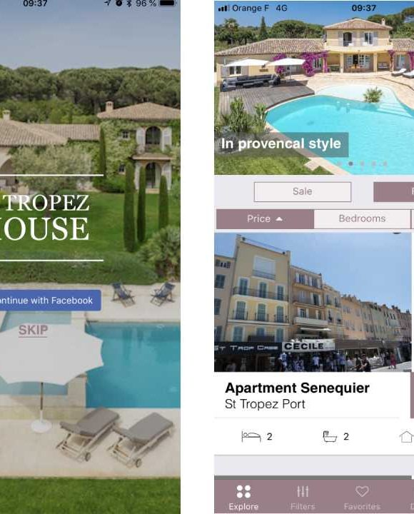 St Tropez House launches its new App