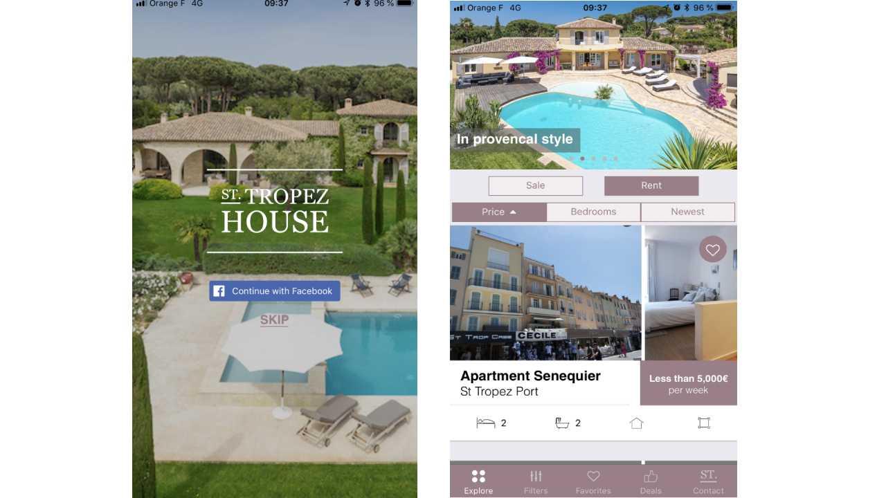 St Tropez House APP