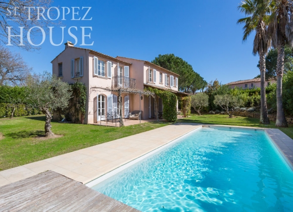 rent villa saint tropez domaine de la castellane heated pool