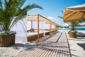 The very best St Tropez beach clubs - sunbeds