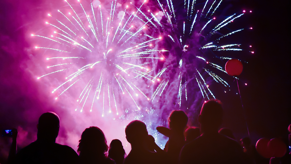 summer events in st tropez bastille day fireworks show