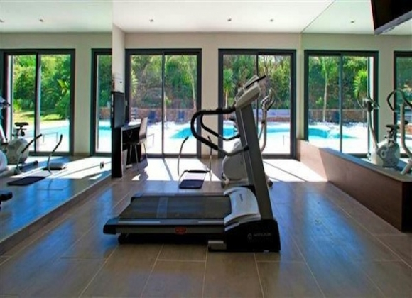 Villa for Rent - Villa Carpe Diem gym