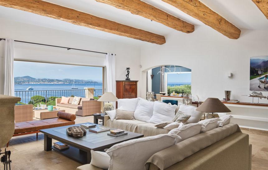 holiday rental villa st tropez gassin villa treasure living room