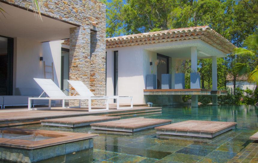holiday rental villa st tropez valfere villa bali pool