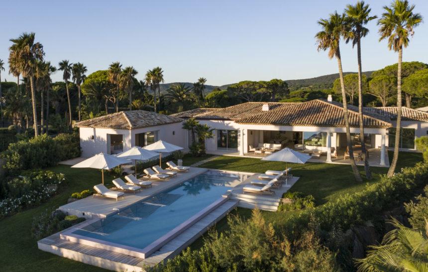 holiday rental villa st tropez villa las brisas pool