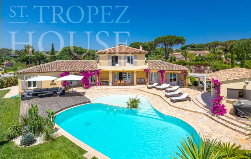 holiday rental villa st tropez tahiti villa cap bastide outdoor