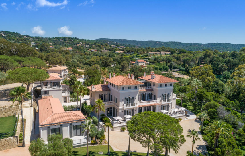 holiday rental villa st tropez la croix valmer villa louise outdoor