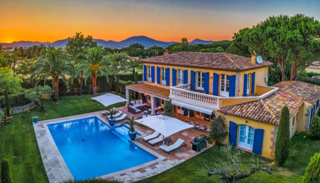 holiday rental villa st tropez villa perla outdoor