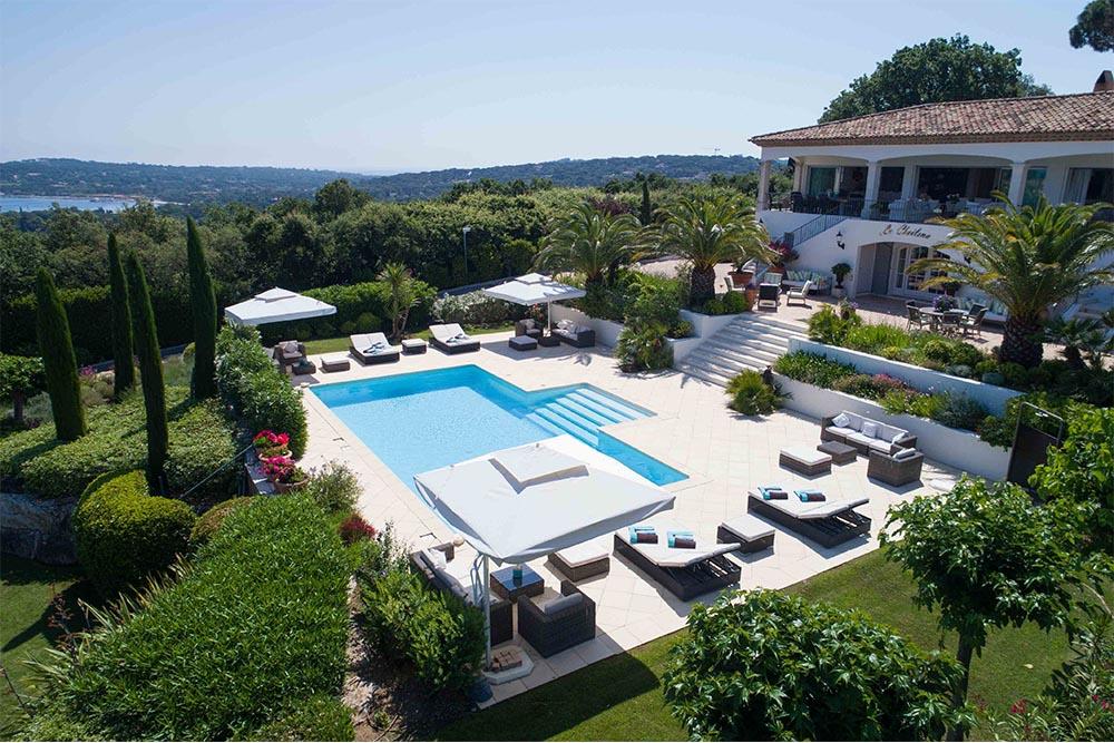 holiday rental villa st tropez villa tortue pool