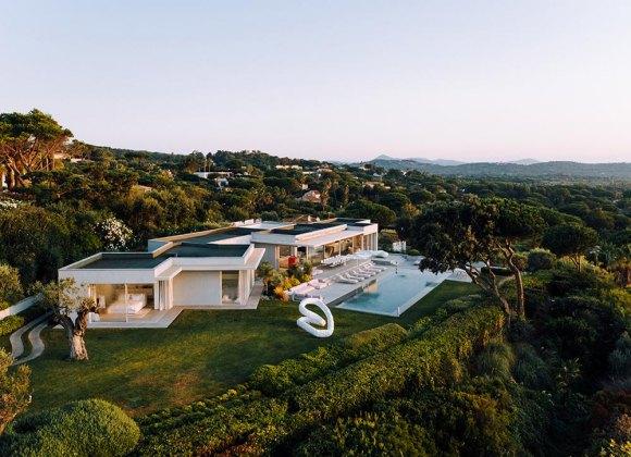 villa ama villas with staff pampelonne