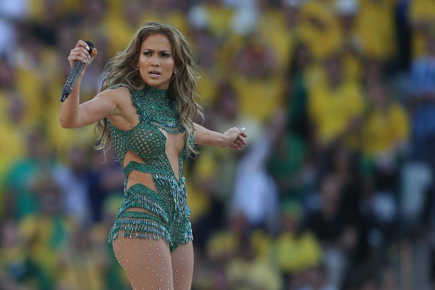 Jennifer Lopez celebrities in st tropez
