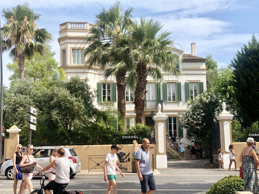 chanel house of chanel st tropez