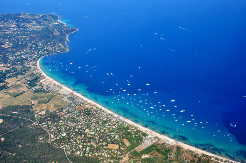 how to get to pampelonne beach st tropez