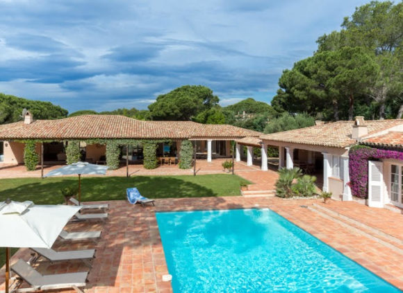 Villa for rent with parking in Pampelonne Beach - Villa Tabou