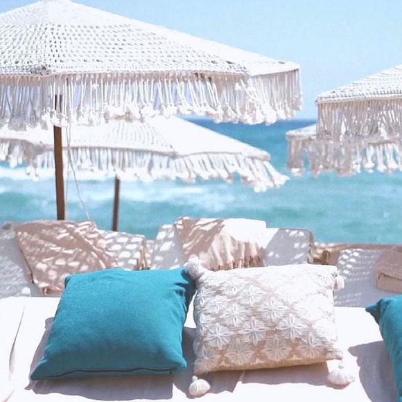 Beach Clubs in St Tropez Verde beach