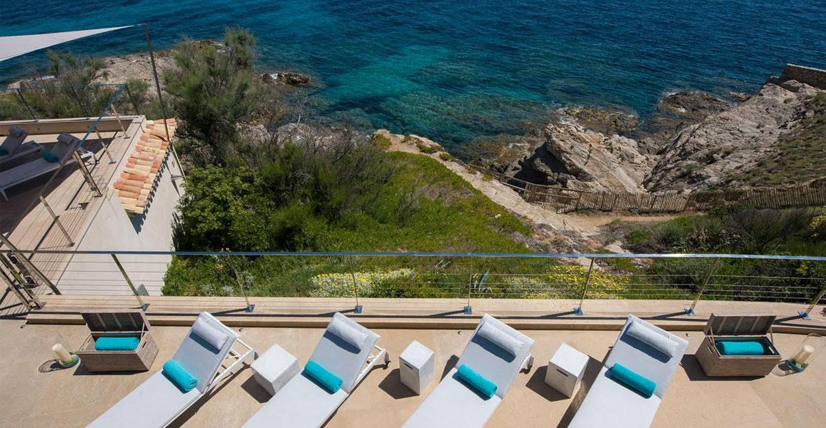 rent villas with jetty st tropez