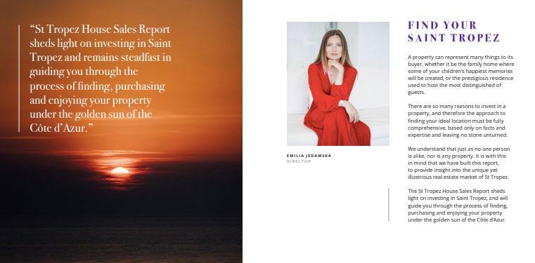 St Tropez House Sales Report